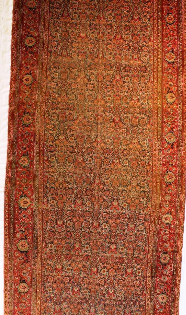 "Ferahan, 19th Century Rug,7'8""x23'"