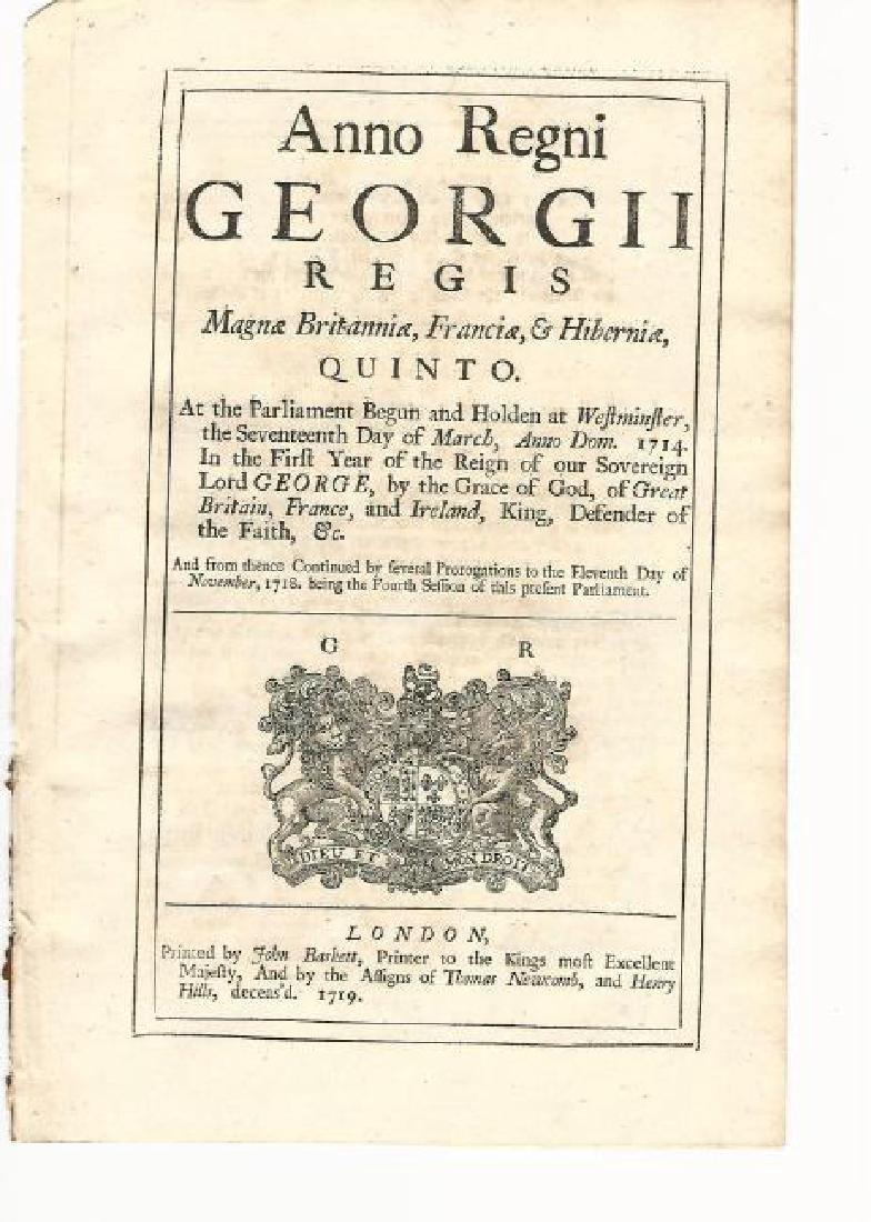 1719 English Act Oaths Solemn League