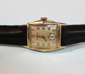 Vintage Bulova 15k Jewels 10K Gold Plate Wrist Watch
