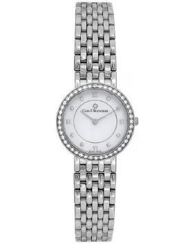 Carl F. Bucherer 18k White Gold Adamavi Ladies Watch