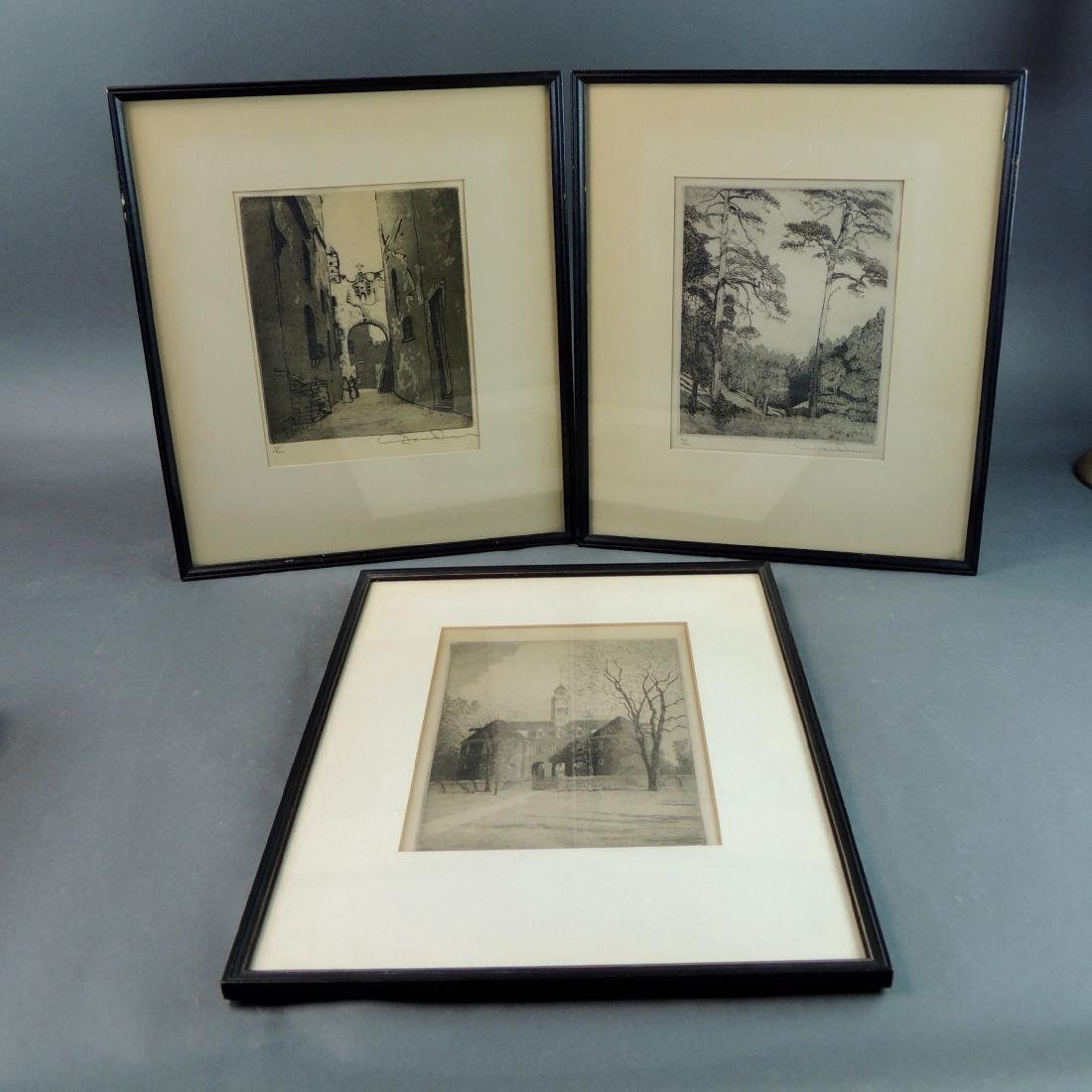 Don Swann/Limited Edition Signed & Numbered Etchings