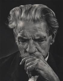 YOUSUF KARSH - Portrait of Albert Schweitzer