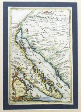 Venegas: Map of Baja California, 1757
