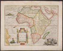 Ortelius: Cornerstone Map of Africa, 1570