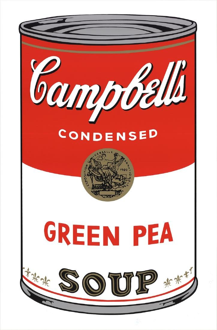 Andy Warhol - (after) Campbell's Green Pea