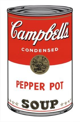 Andy Warhol - (after) Campbell's Pepper Pot