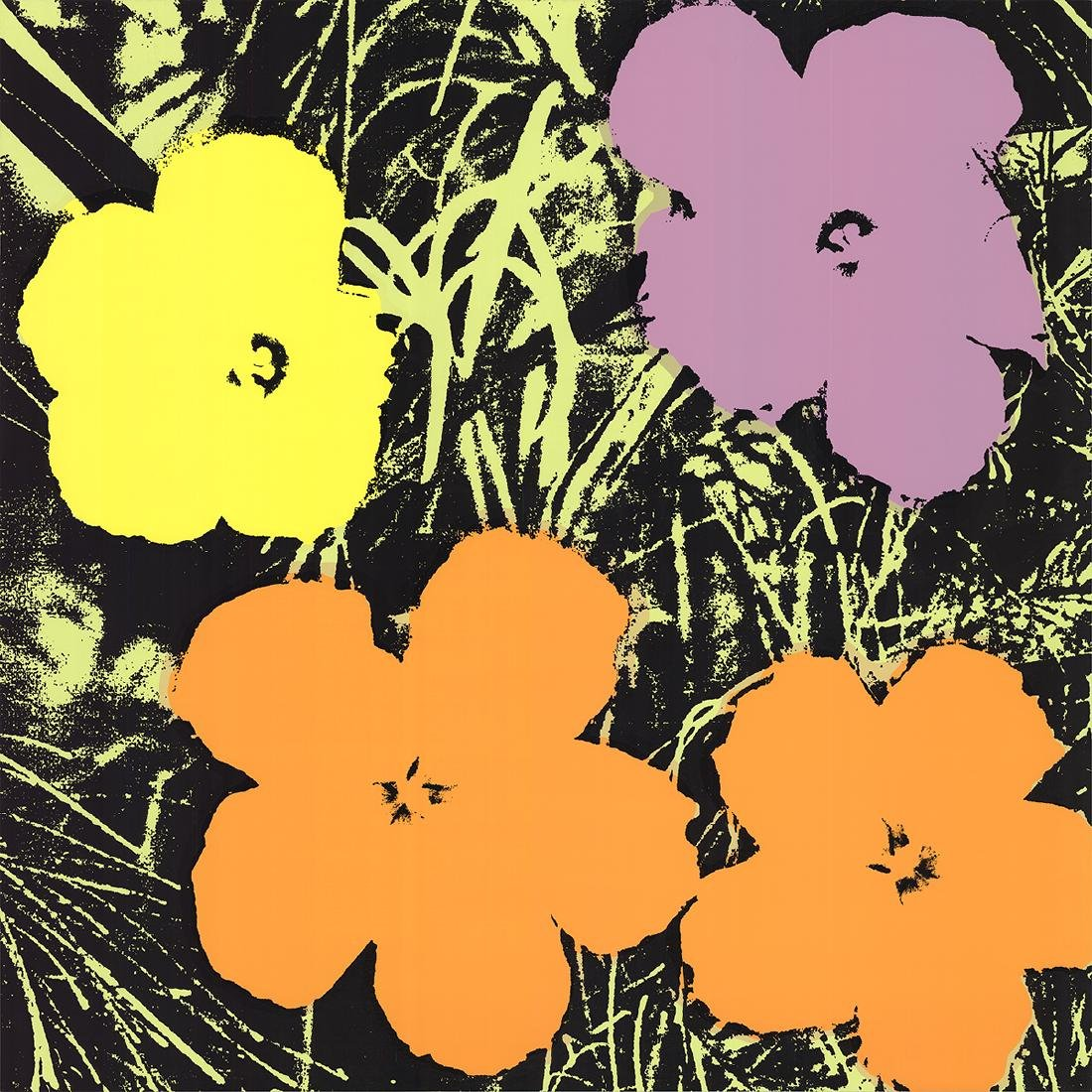 Andy Warhol - (after) Flowers