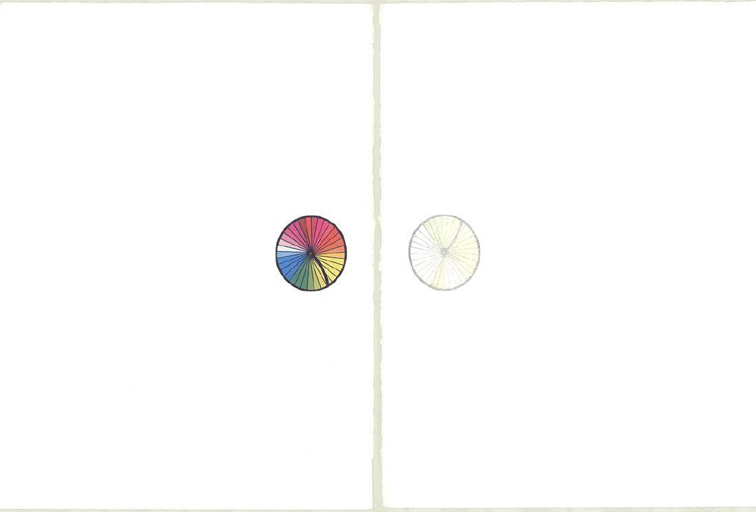 Robert Rauschenberg - Re-entry (Diptych) - 1975