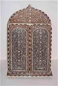 Hoshiarpur Inlaid Keepsake Cabinet
