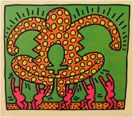 Keith Haring, set of 5 postcards