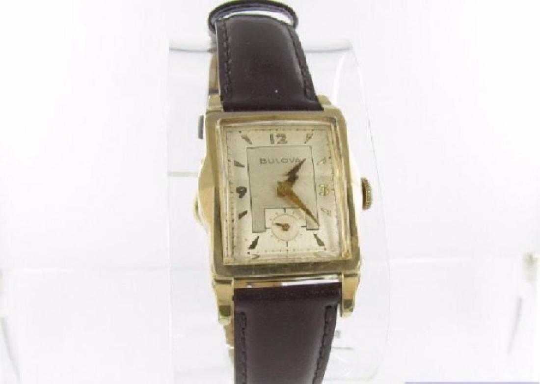 Vintage Bulova Mens or Ladies Gold Filled Watch
