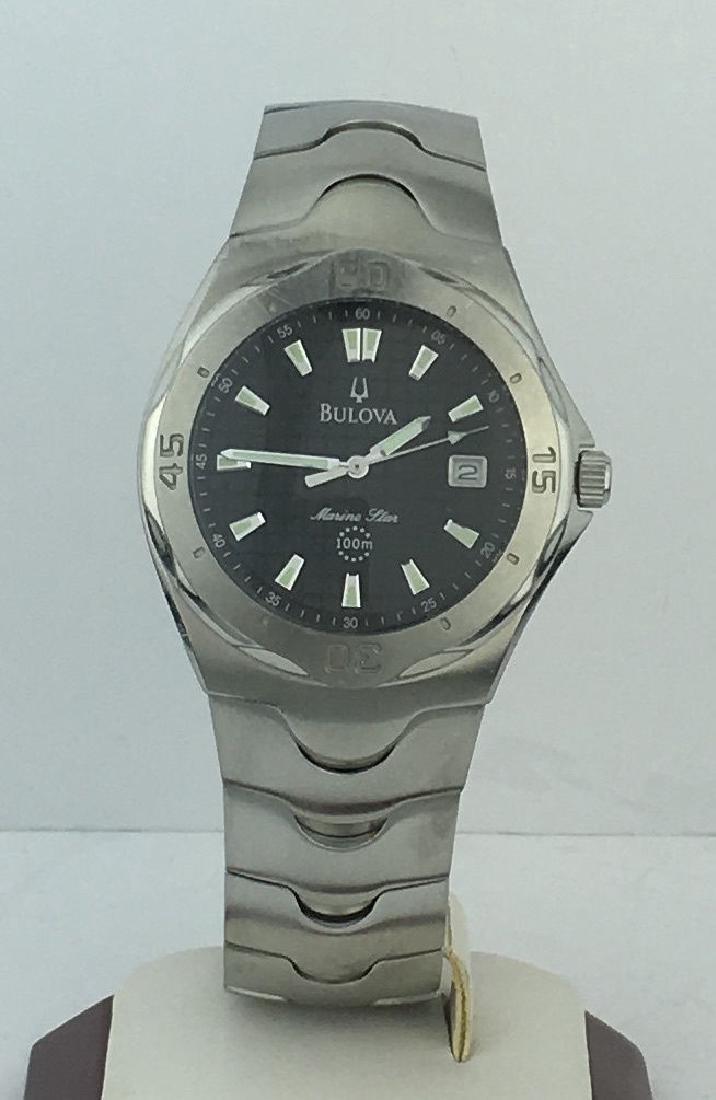 Bulova Marine Star 100m Stainless Steel Watch