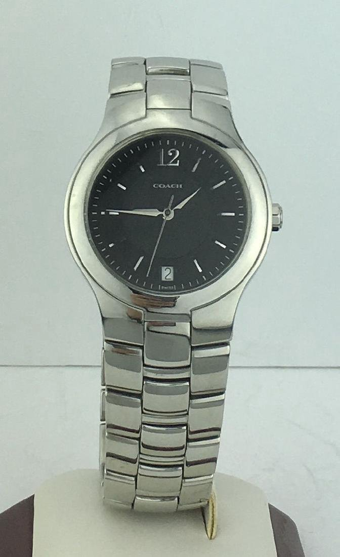 Contemporary Coach Stainless Steel Watch