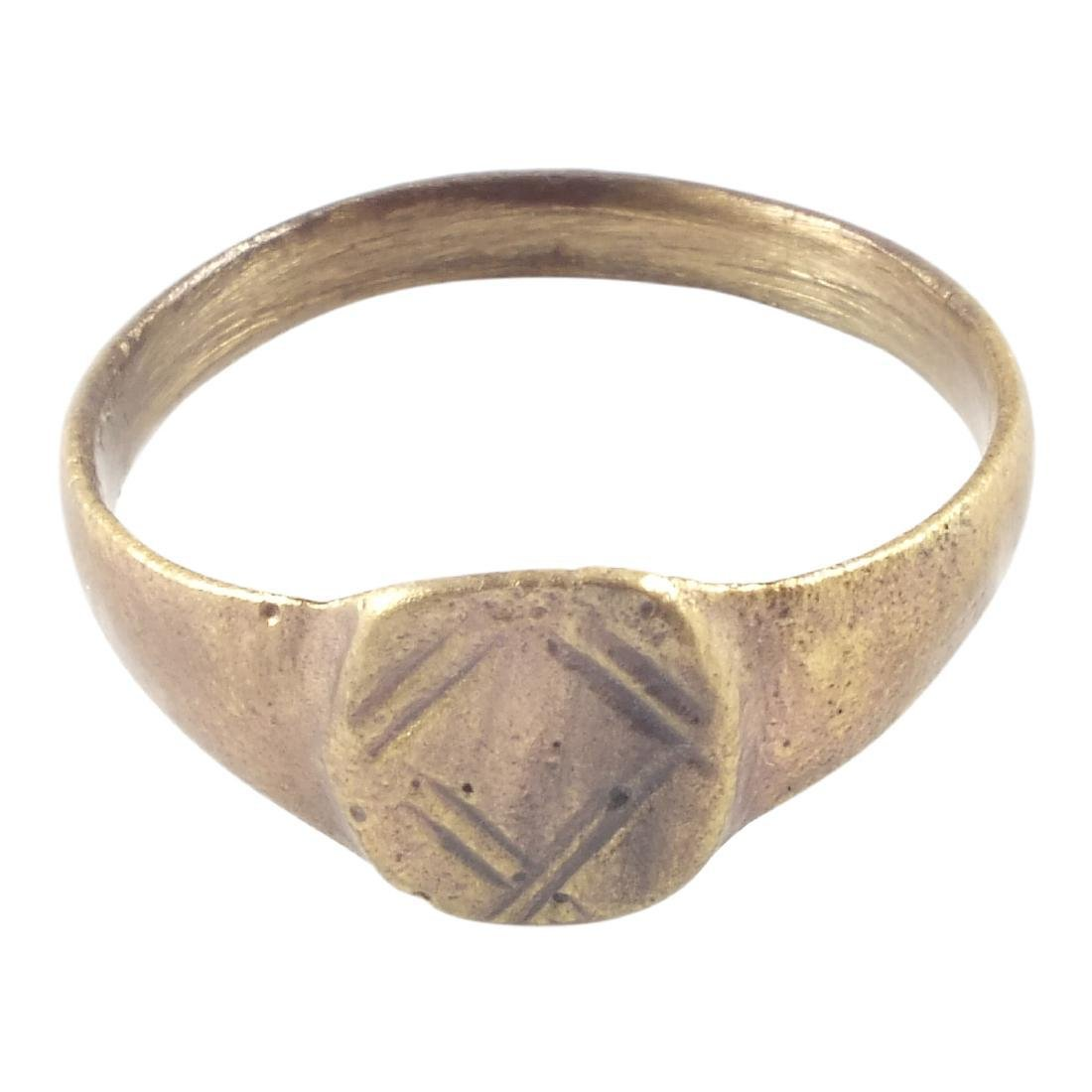 Ancient Byzantine Woman's Ring 8th-12th Century