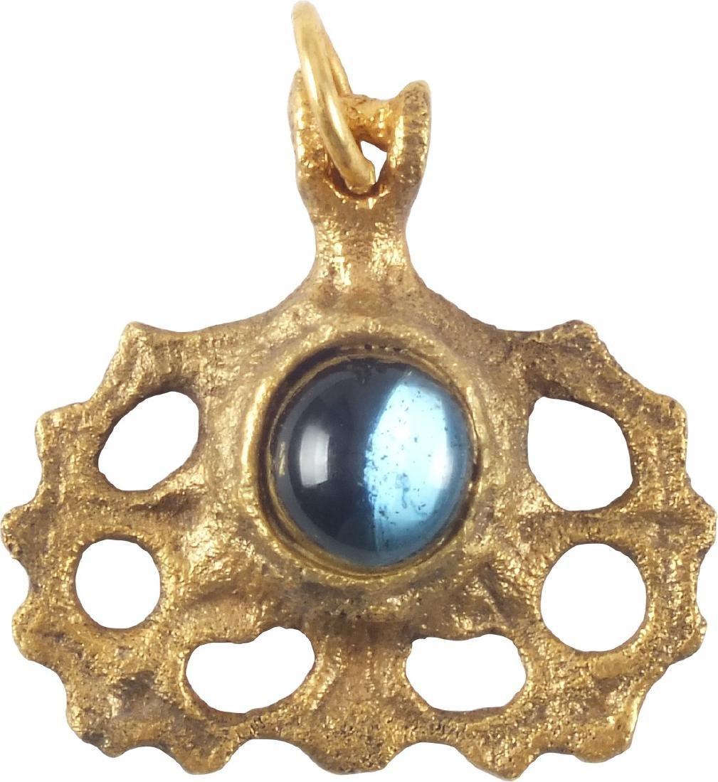 Spanish Ladies Pendant C.1450