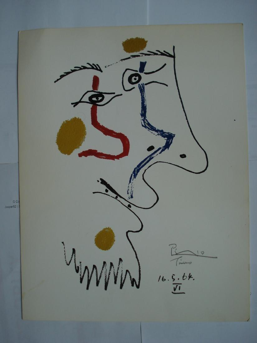 Lithograph from the Portfolio: Le Goût du Bonheur