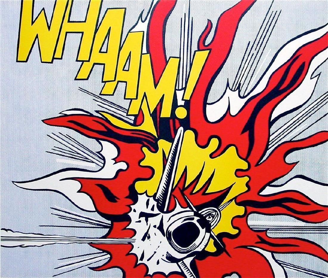 Roy Lichtenstein Whaam! 1986 Ltd Edition #682/3000