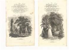 c1820 Engraved Title Leaves Perregrine Pickle