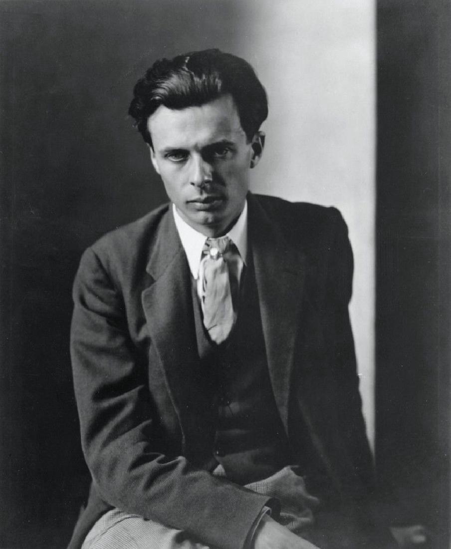 Charles Sheeler Portrait of Aldous Huxley