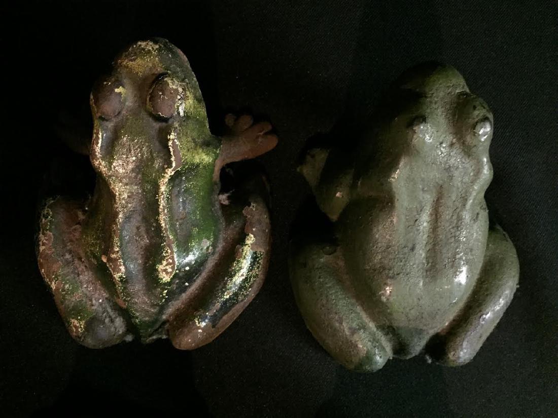 Cast Iron Frog Set 4 - 2