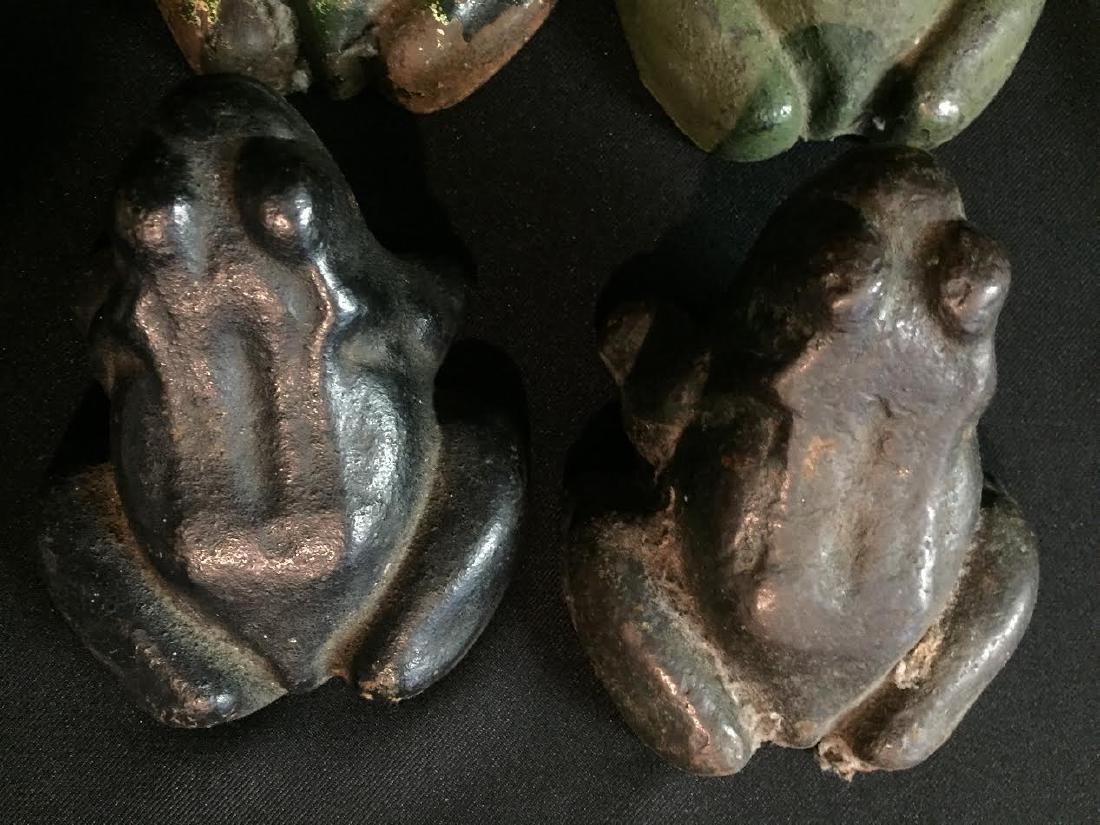 Cast Iron Frog Set 4 - 3