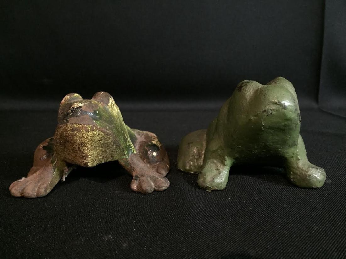 Cast Iron Frog Set 4 - 4