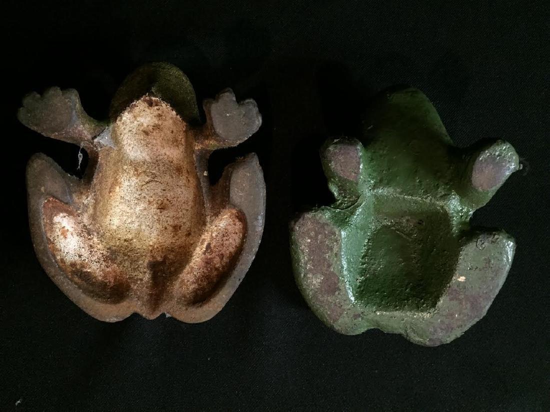 Cast Iron Frog Set 4 - 5