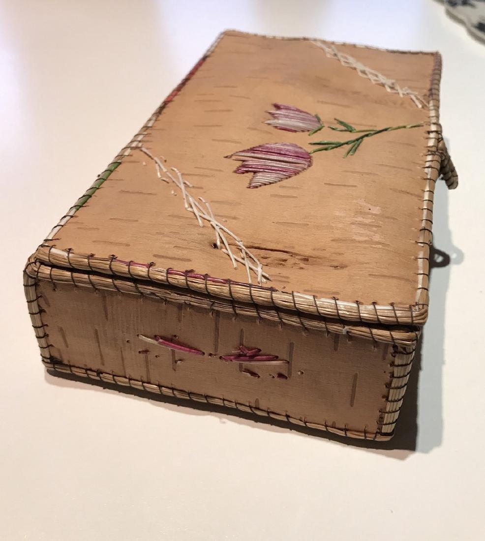 Northwest Indian Bark Box