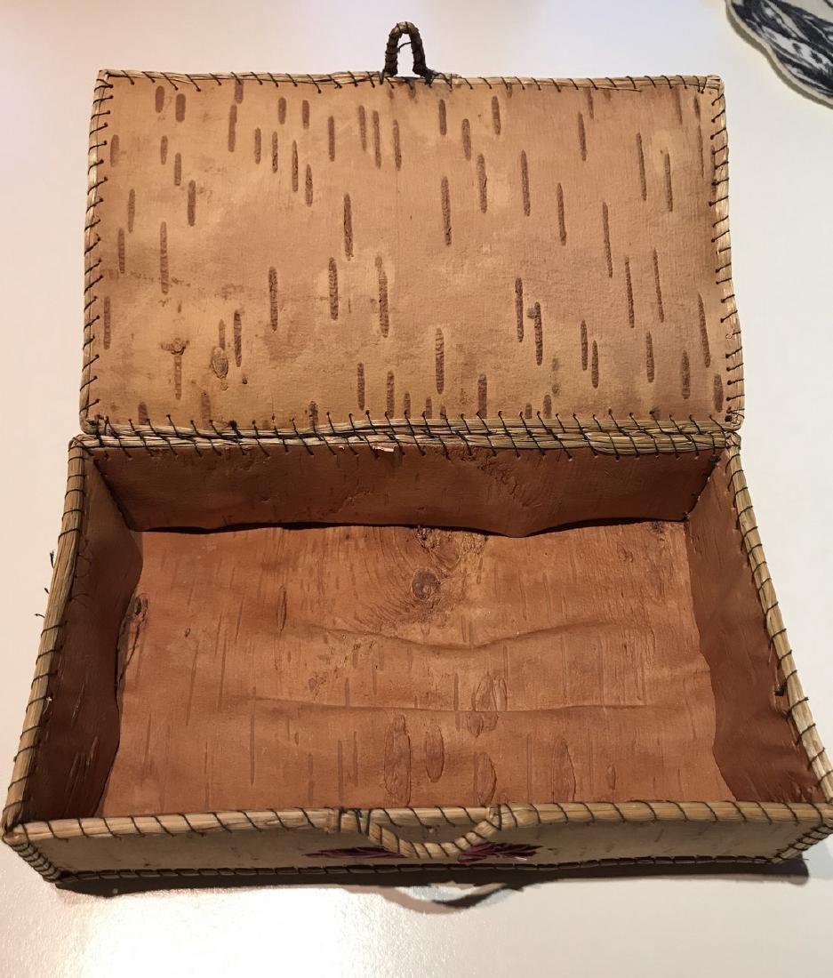 Northwest Indian Bark Box - 2