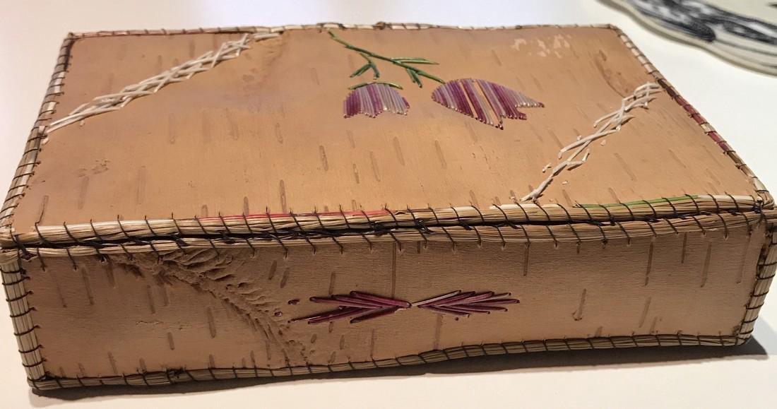 Northwest Indian Bark Box - 3