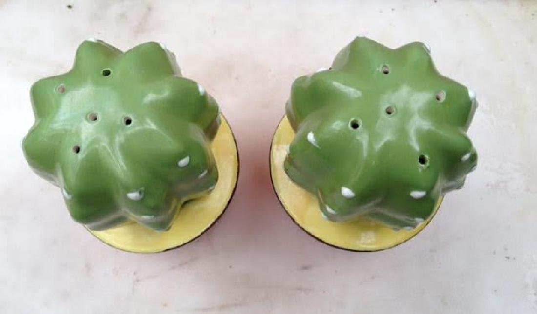 Cactus Salt & Pepper Shakers - 2