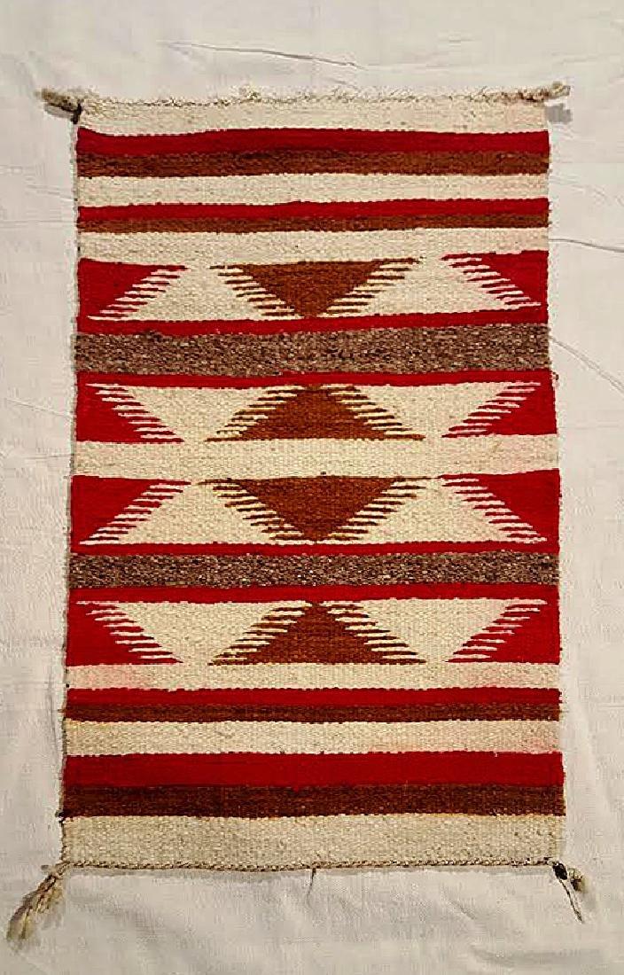 Ganado Throw Navajo Weaving ca 1930's