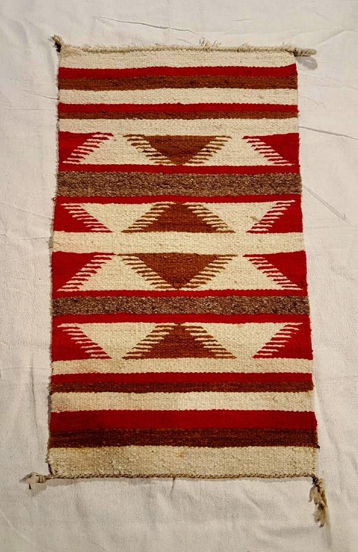 Ganado Throw Navajo Weaving ca 1930's - 2
