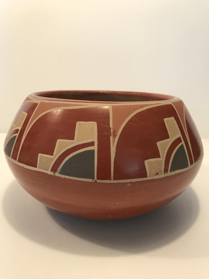 Southwest Native American Pottery Bowl