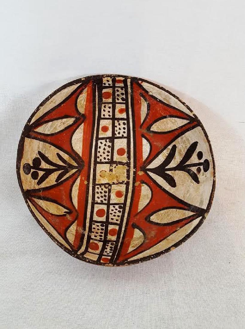 Isleta Pueblo Pottery Bowl circa 1920's