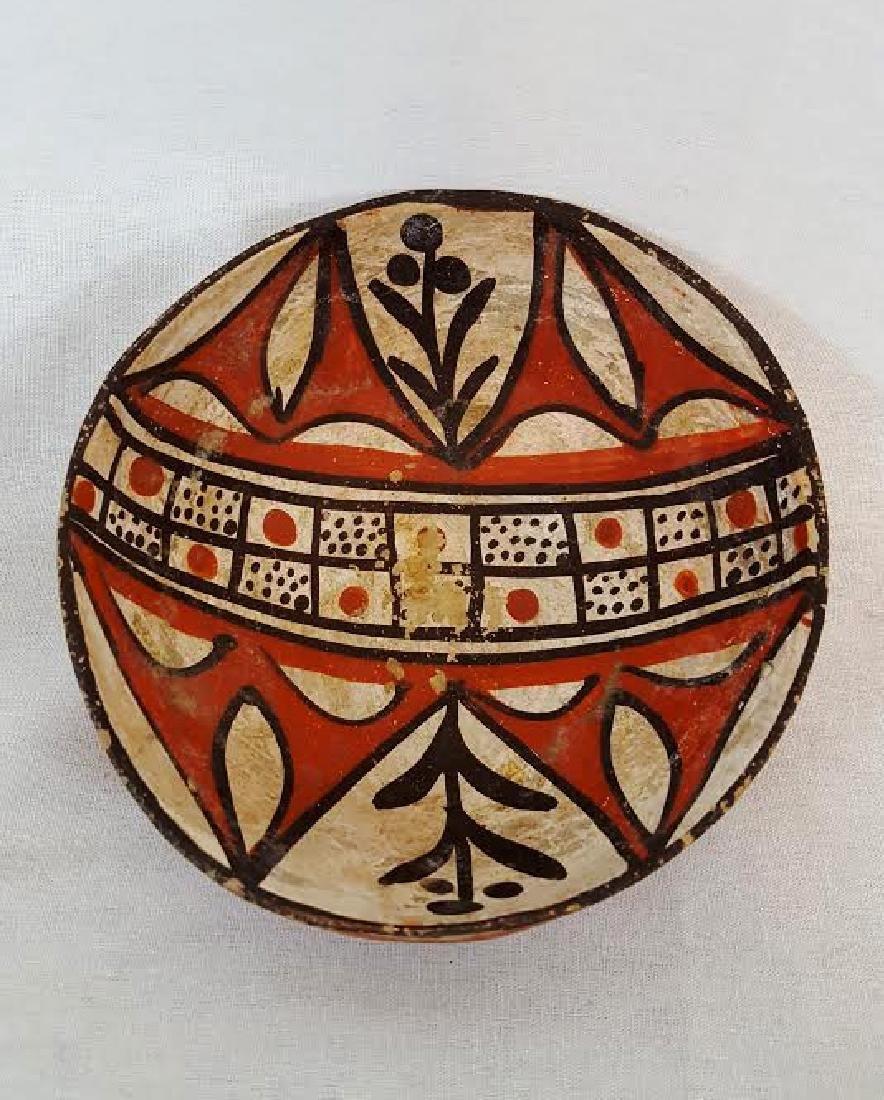 Isleta Pueblo Pottery Bowl circa 1920's - 2