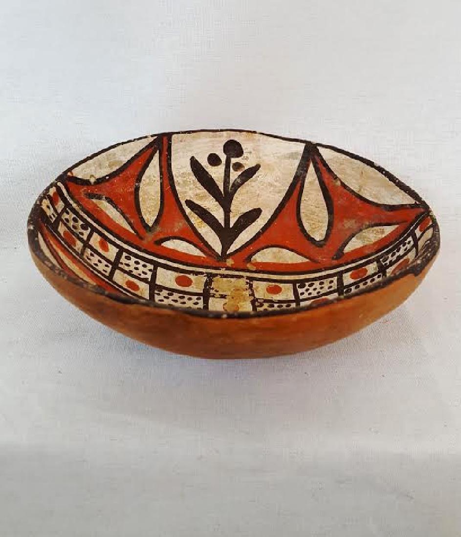 Isleta Pueblo Pottery Bowl circa 1920's - 3