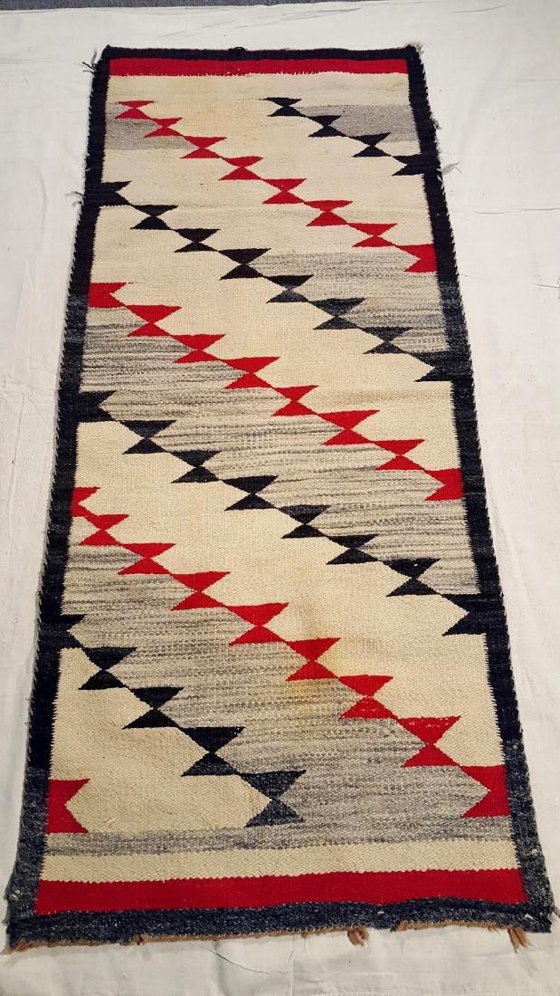 Navajo Woven Runner ca 1930's