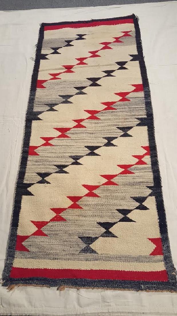 Navajo Woven Runner ca 1930's - 2