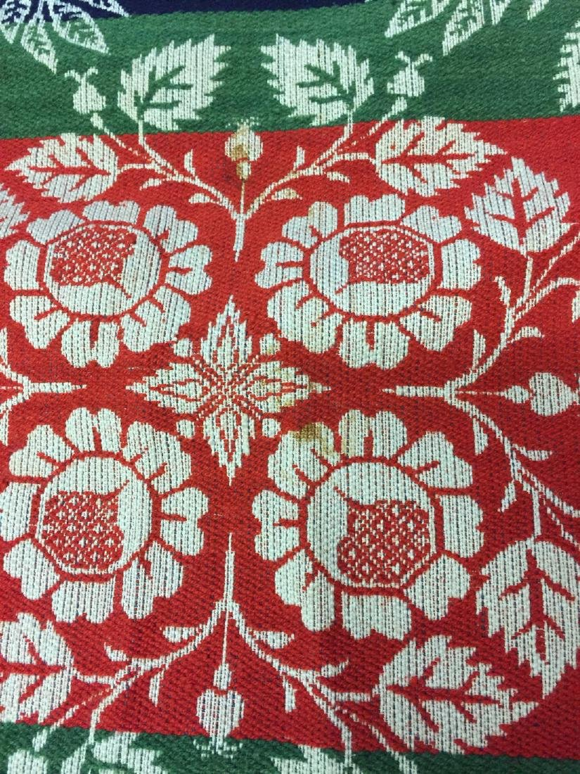 1850's W. H. Gernand Damask Coverlet Carroll County MD - 6