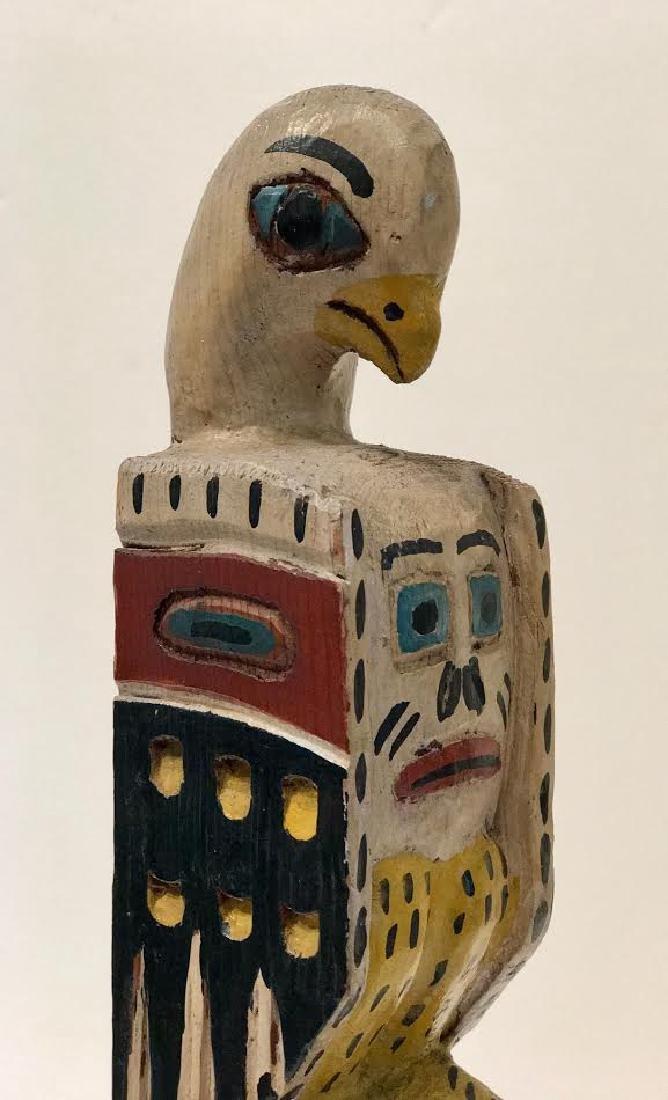 Signed Eagle Tribe Northwest Indians Totem - 2