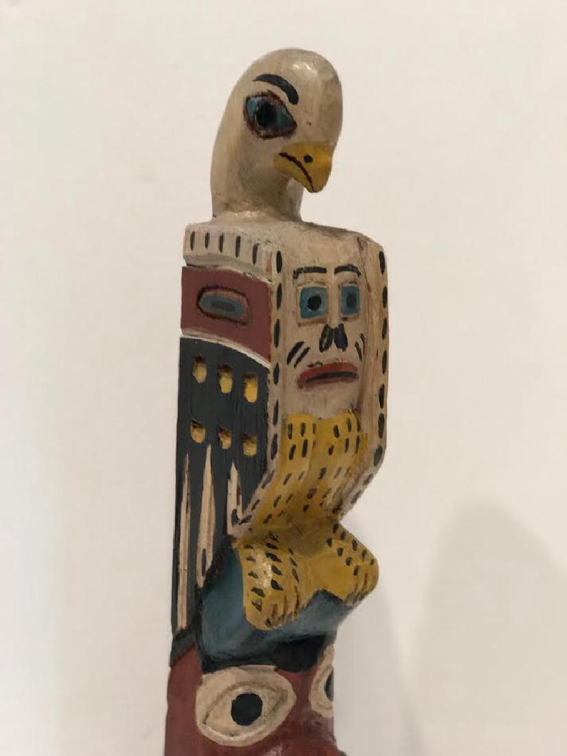 Signed Eagle Tribe Northwest Indians Totem - 3