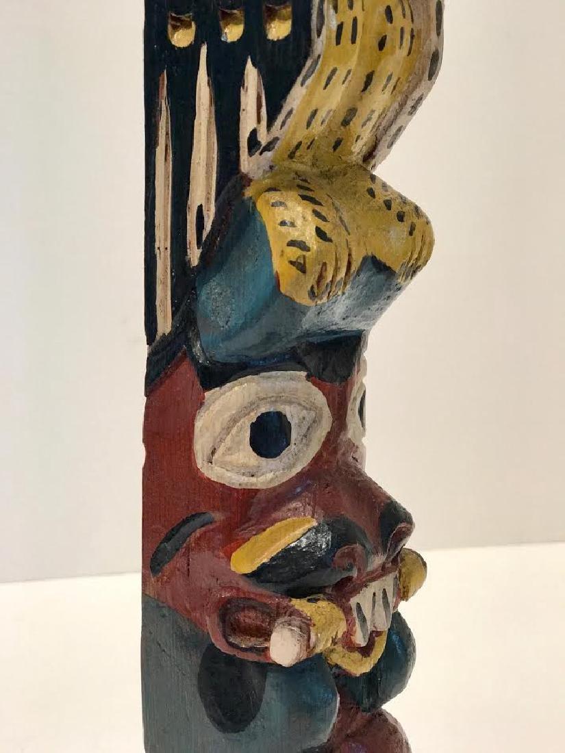 Signed Eagle Tribe Northwest Indians Totem - 4