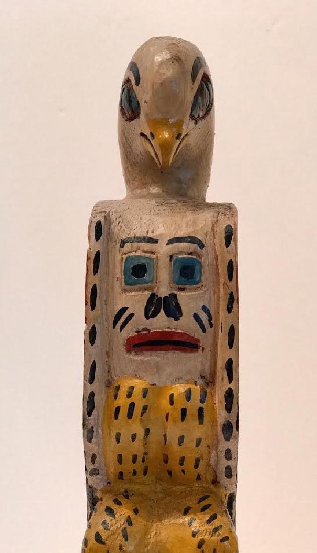 Signed Eagle Tribe Northwest Indians Totem - 5