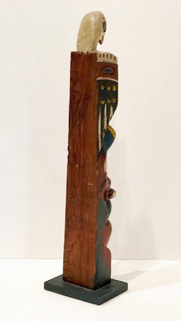 Signed Eagle Tribe Northwest Indians Totem - 8