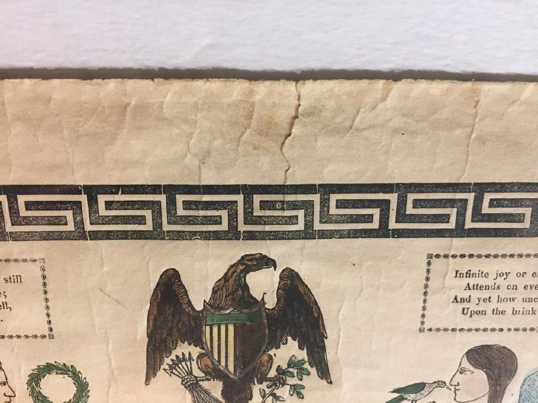 1840s Fraktur Birth Certificate - 9