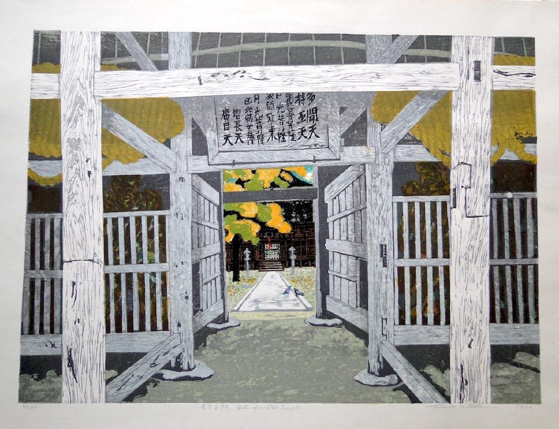 Fumio Kitaoka: Gate of an Old Temple