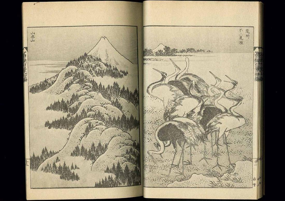 Hokusai Katsushika: 100 Views of Mt. Fuji 3 Volume Set - 9