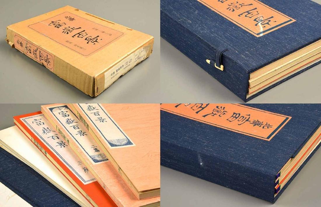 Hokusai Katsushika: 100 Views of Mt. Fuji 3 Volume Set - 3