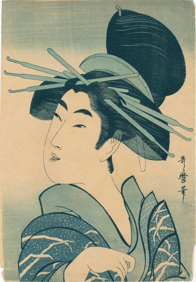 Utamaro Kitagawa: Happy Courtesan